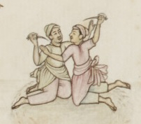 "Pic. 1. Dagger fight art ""bank"""