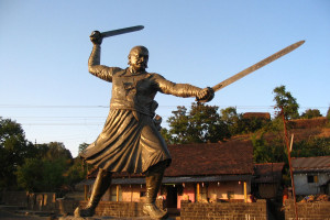 Baji Prabhu Maratha sardar, died fighting the Mughals