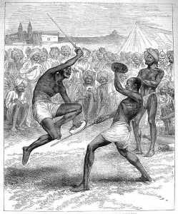 Soldiers game in the native Indian troops of the British Army